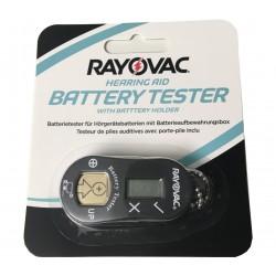 Rayovac Batterietester